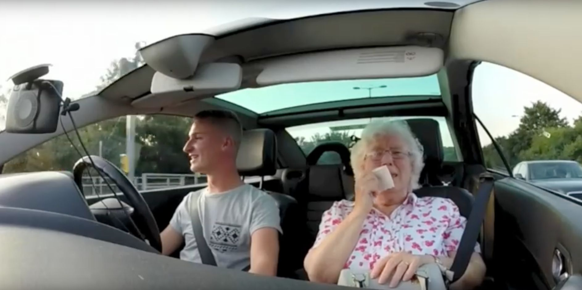 This Grandson Gave His Nan The Most Brilliant Surprise For Her 86th