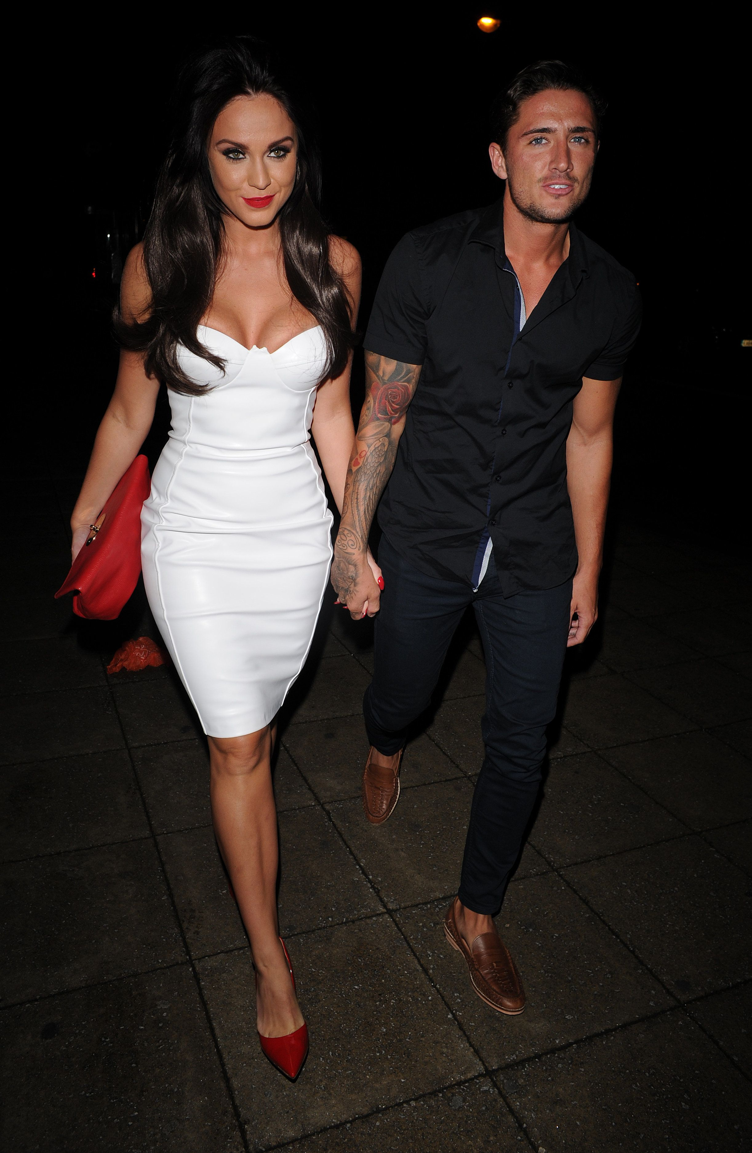 Vicky Pattinson and Stephen Bear dated in