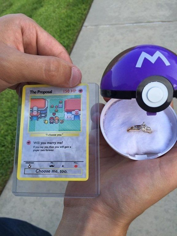 This Pokemon Proposal Is All Kinds Of