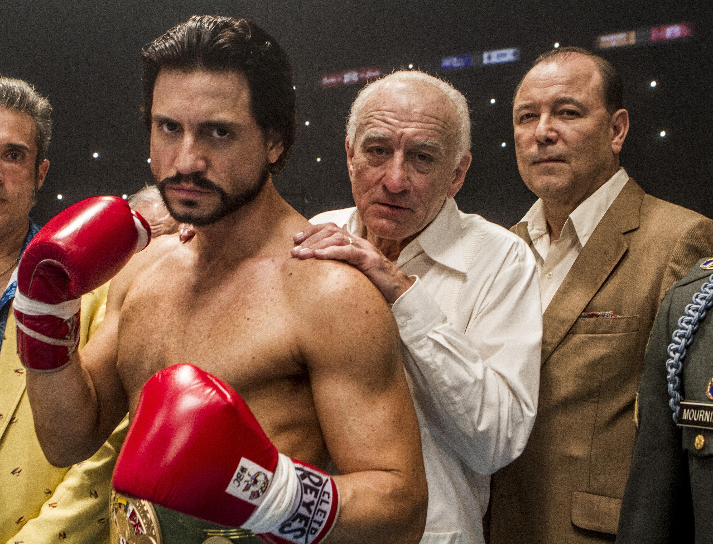 Édgar Ramírez and Robert De Niro star in HANDS OF STONE