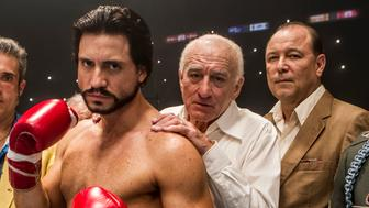 Édgar Ramírez and Robert De Niro star in HANDS OF STONE
