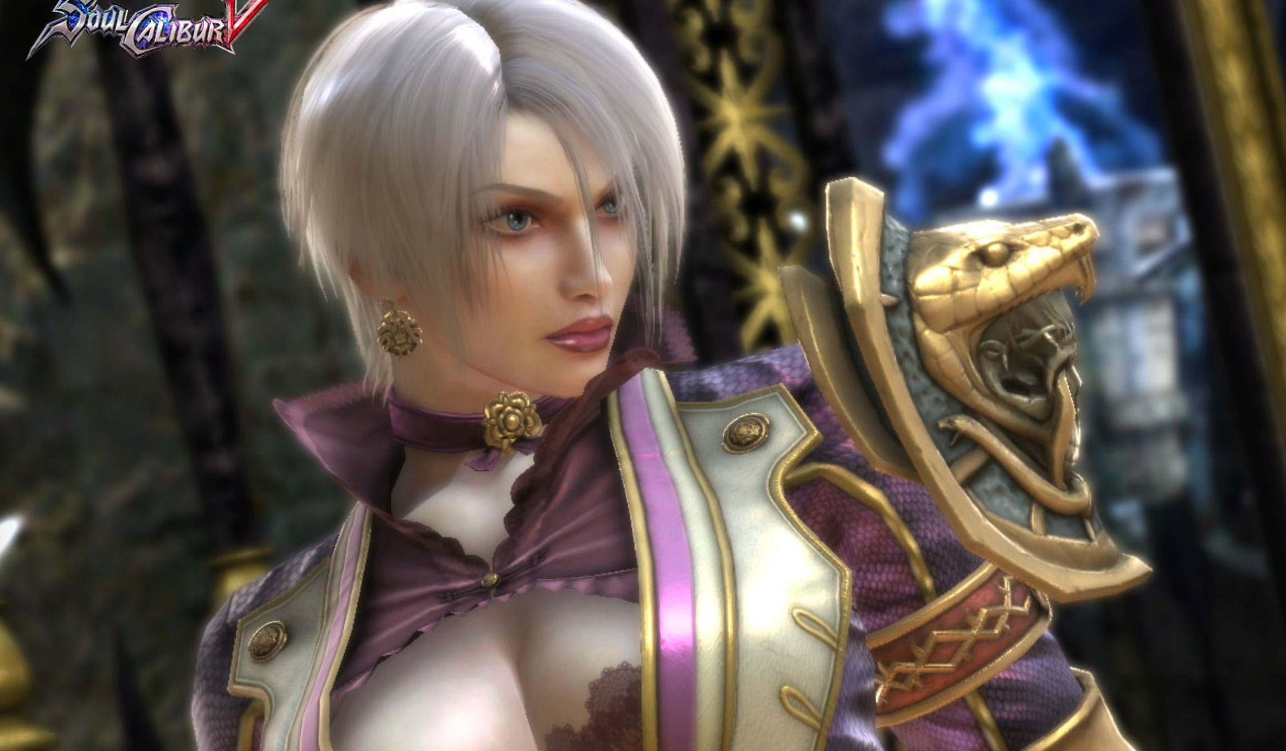 "Ivy, a playable character in the ""Soul Calibur"" series, has generally been known for her skimpy outfits. This costume, from 2"