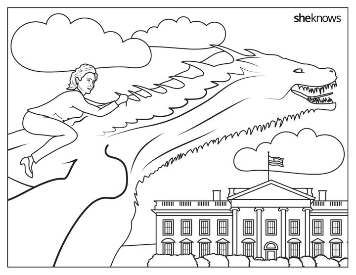 This Hillary Clinton Coloring Book Is Jam-Packed With Girl