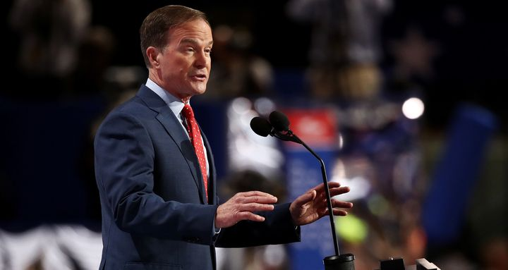 Michigan Attorney General Bill Schuette (R) might run for governor.(Photo by Win McNamee/Getty Images)