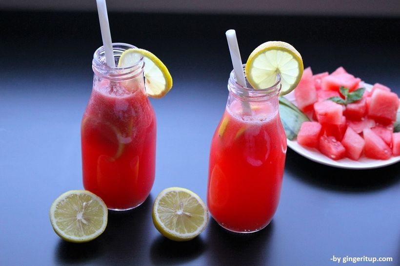 Watermelon Pink Lemonade Cooler