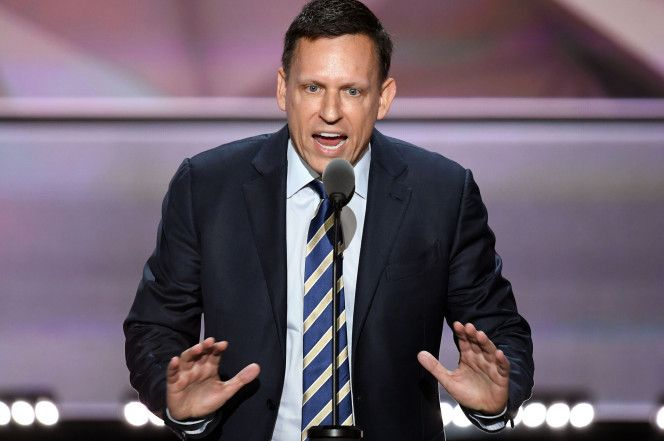 Peter Thiel says things are getting worse, so vote Trump