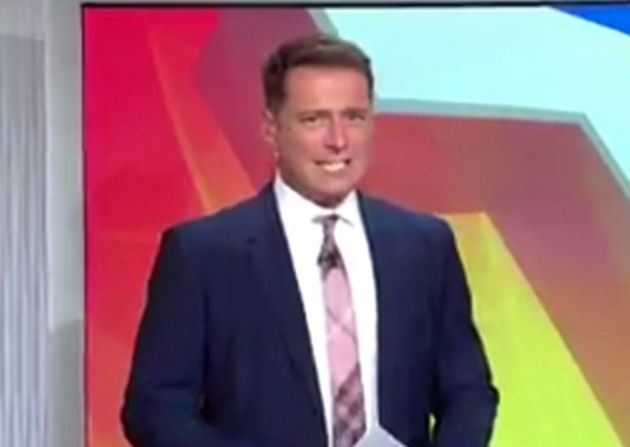 Australian TV presenter, Karl Stefanovic, apologised for his 'ignorant jibe' at the expense of the LGBT