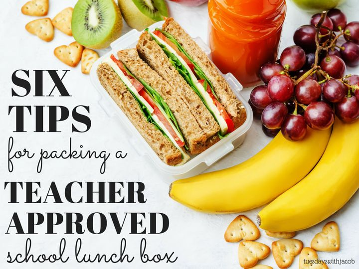 How to get an A+ in packing school lunches