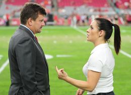 The First Female NFL Coach Is Proud To 'Play Like A Girl'