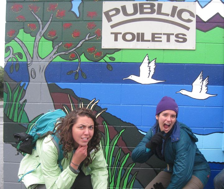 "These Americans found the ""toilets"""