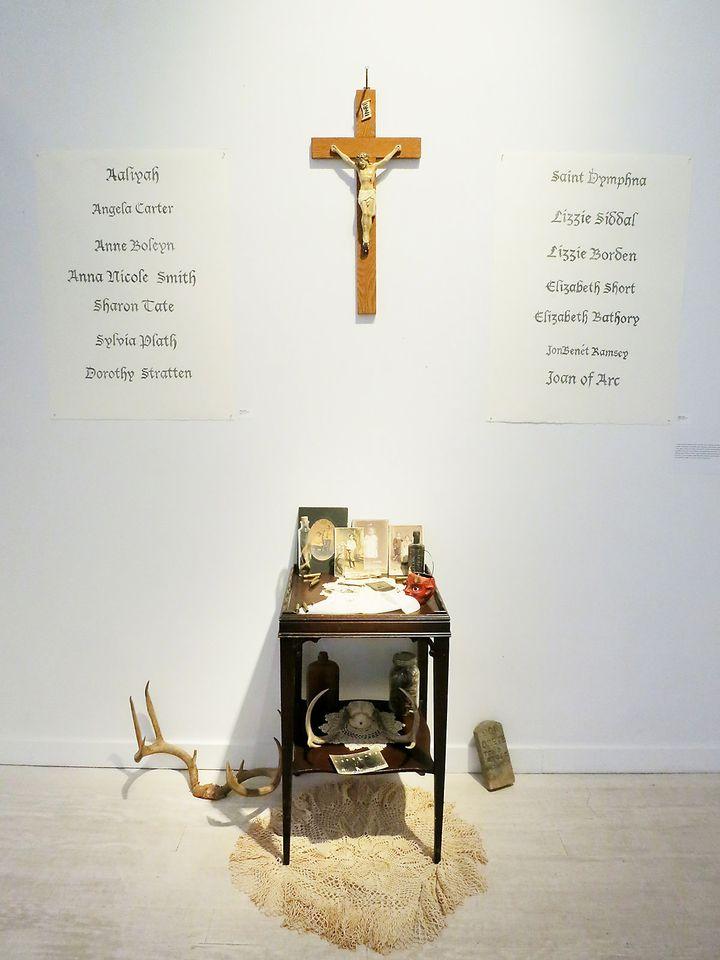 "Maggie Dunlap, Memoriam II, Featured in ""LIFEFORCE"" Exhibit, Untitled Space Gallery, New York"
