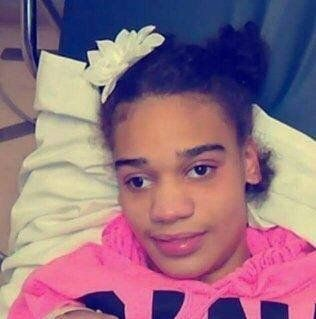 """""""I know she knows she's somewhere she's not supposed to be and that breaks my heart,"""" said the mother of Aleah Beckerle (pict"""
