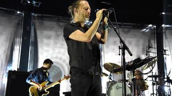 NEW YORK, NY - JULY 26:  Thom Yorke of Radiohead performs at Madison Square Garden on July 26, 2016 in New York City.  (Photo by Kevin Mazur/Getty Images)
