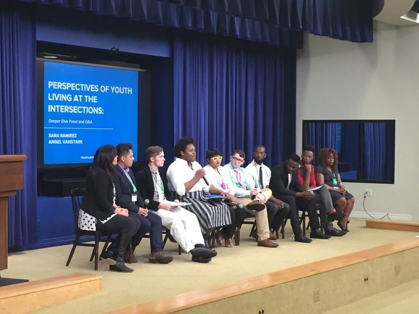 Homeless youth speak at the White House