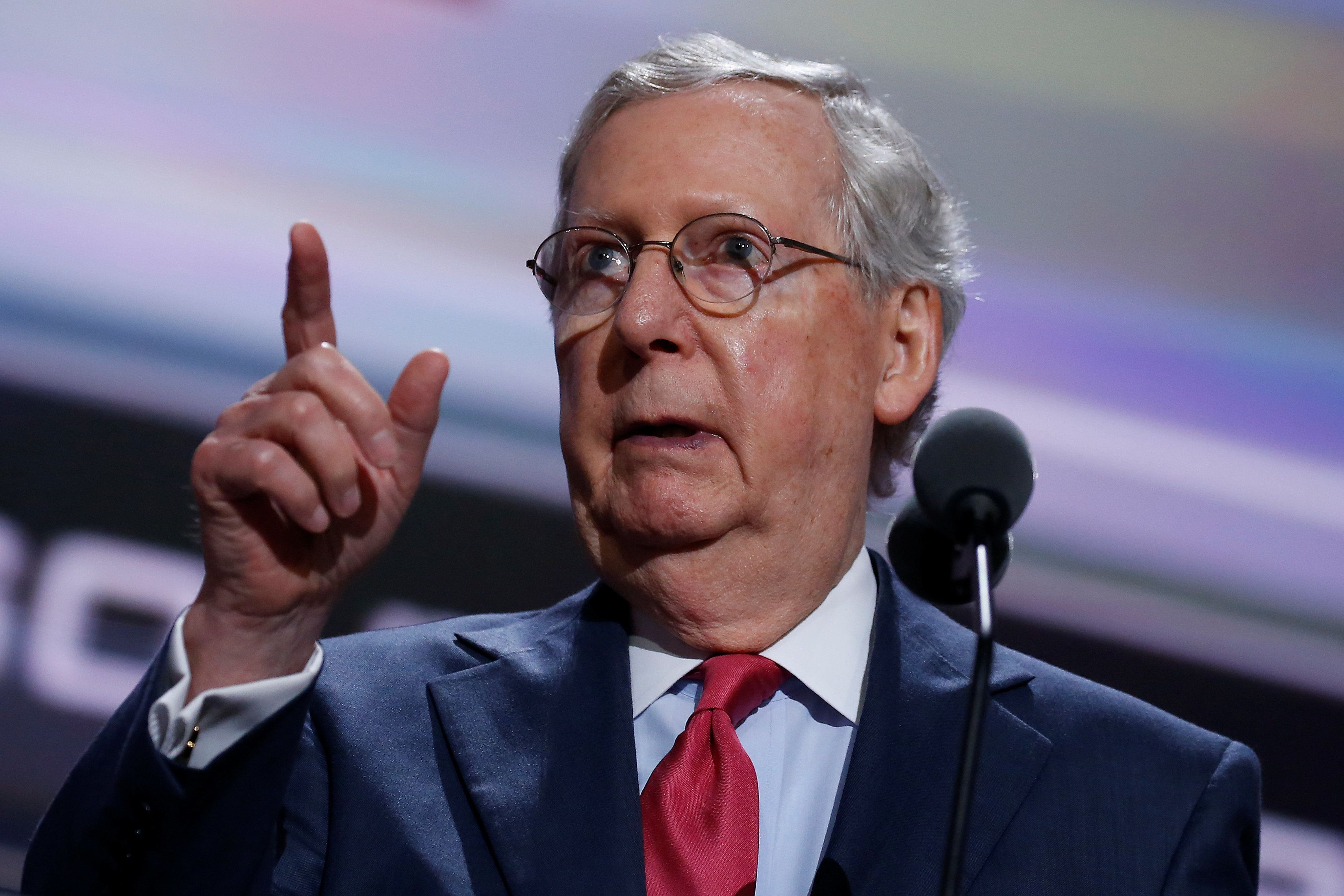 Senate Majority Leader Mitch McConnell (R-Ky.) blames the Democrats, while the Democrats blame the Republicans. And either wa