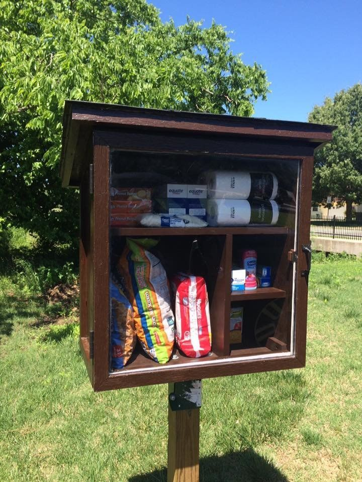 The Little Free Pantry.