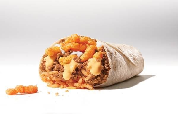 Taco Bell is testing a Cheetos-stuffed burrito in Cincinnati starting next month.