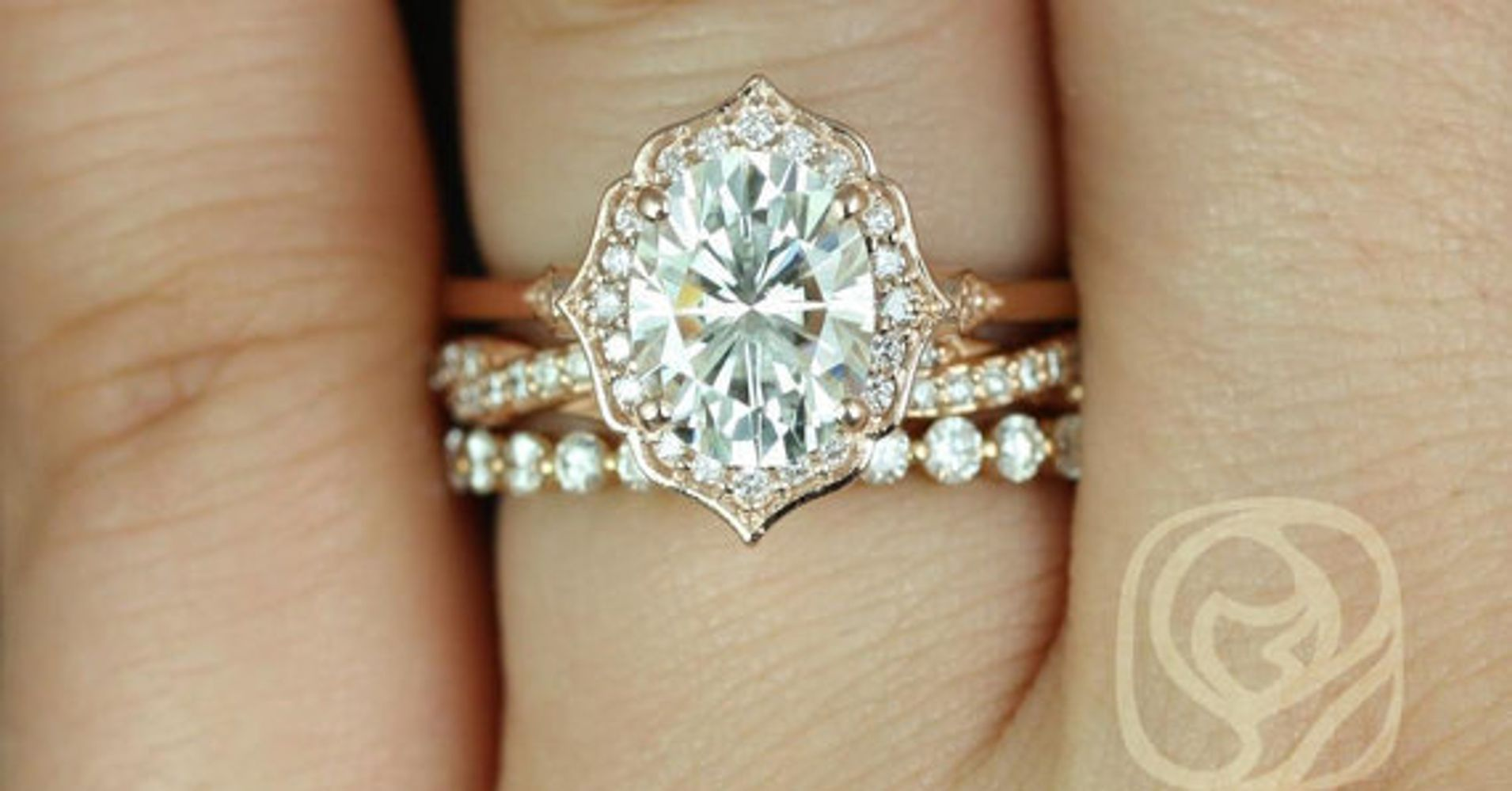 14 stunning stackable ring sets for the modern bride huffpost junglespirit Images
