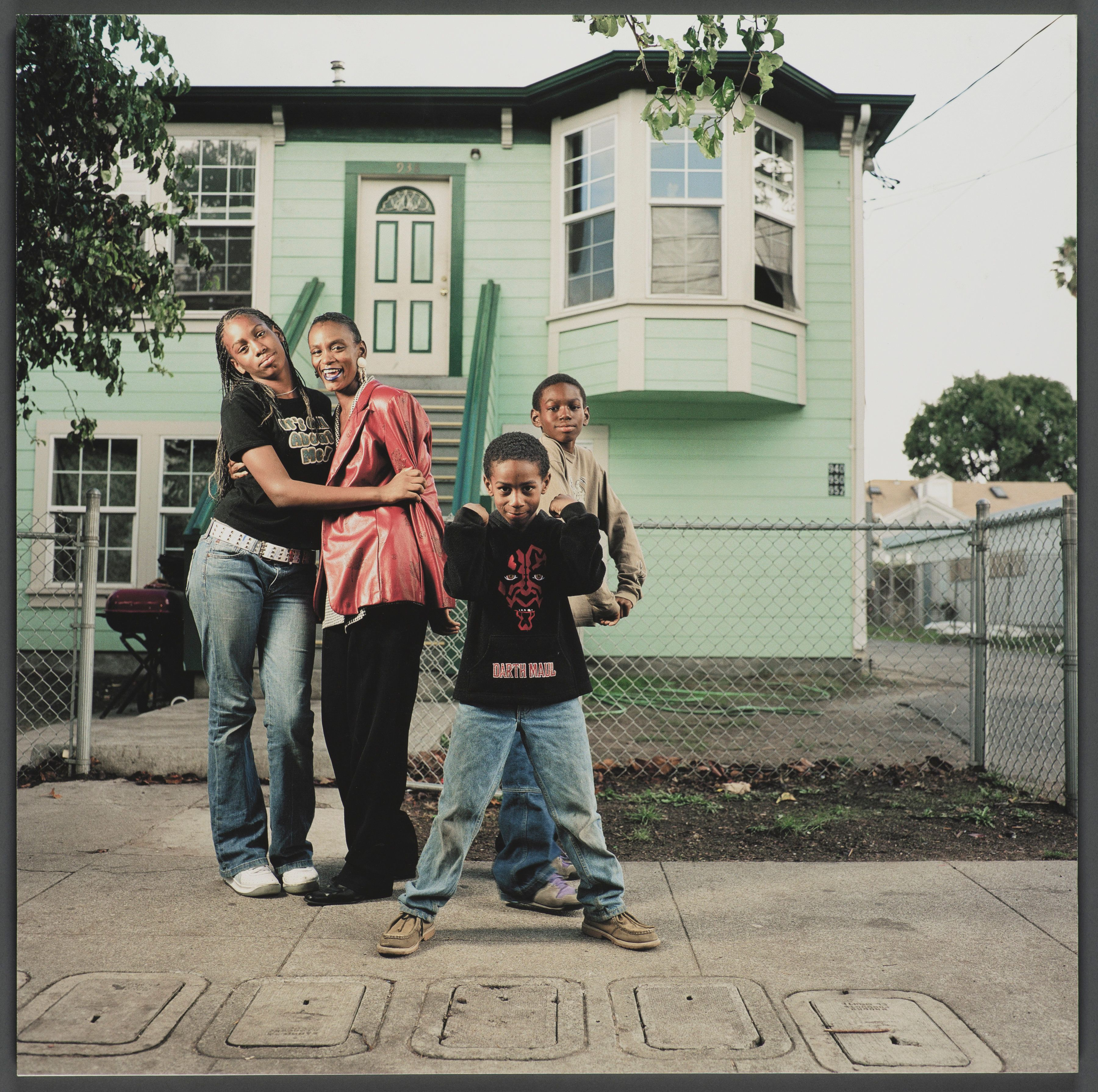 """""""952 Chester Street,"""" a 16x16 giclee print from 2003 by Julie Placensia, is included in the exhibition """"Oak"""