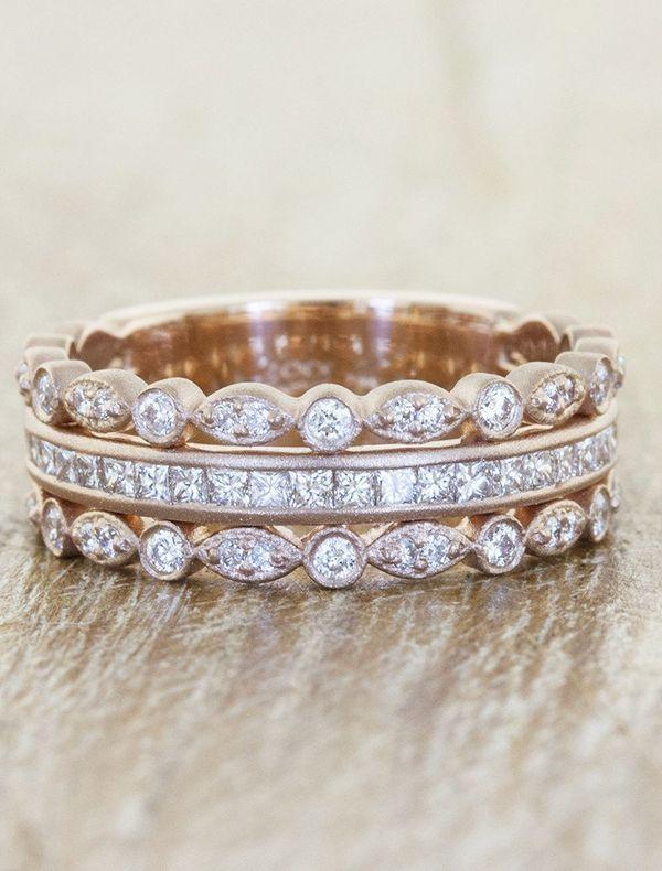 5 - Stackable Wedding Rings