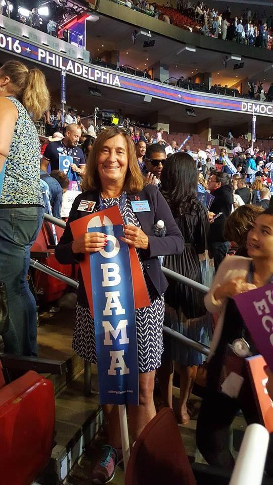 Massachusetts State Treasurer Deborah Goldberg at the DNC