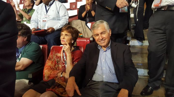 Former Massachusetts Governor Michael S. Dukakis and his wife, Kitty