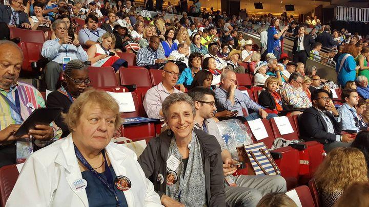 Delegate Marilyn Hazel and Massachusetts State Rep. Ruth B. Balser