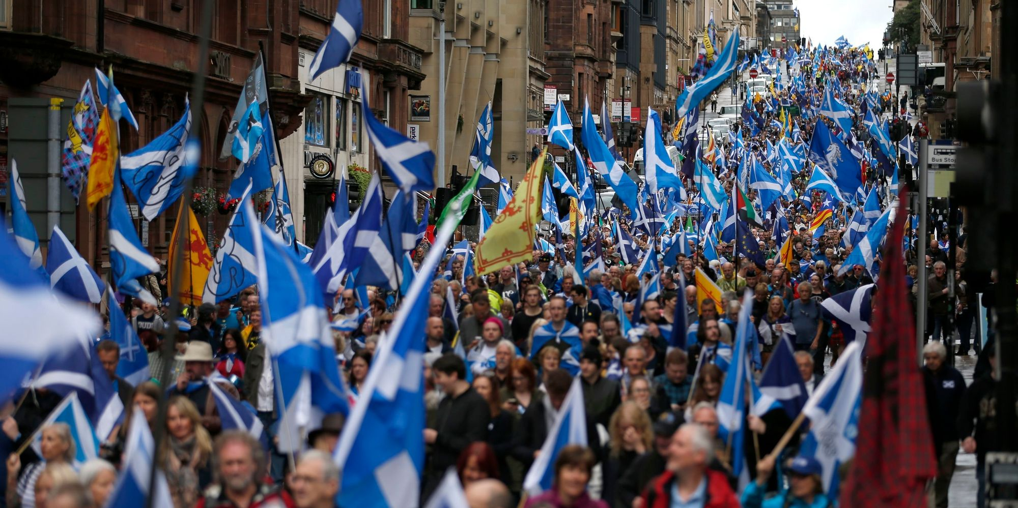 scottish independence Support for scottish independence has fallen below the 45 per cent achieved in the 2014 referendum, a new poll has found the yougov poll for the times newspaper.