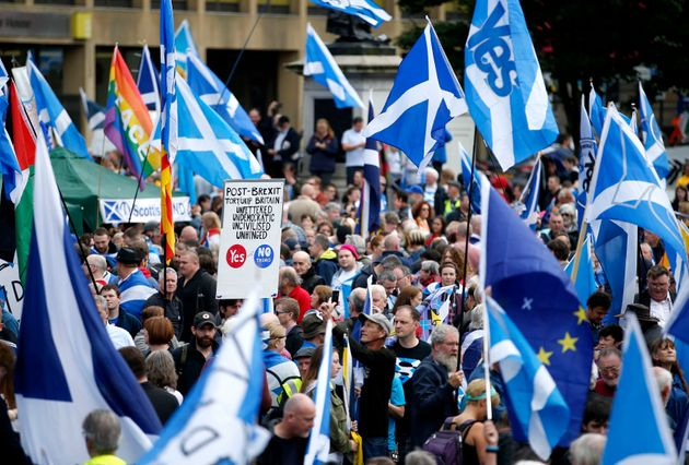 Thousands took part in the 'All Under One Banner'
