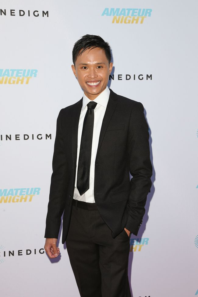 Adrian Voo attends the premiere of 'Amateur Night' on July 25, 2016 in Hollywood, California