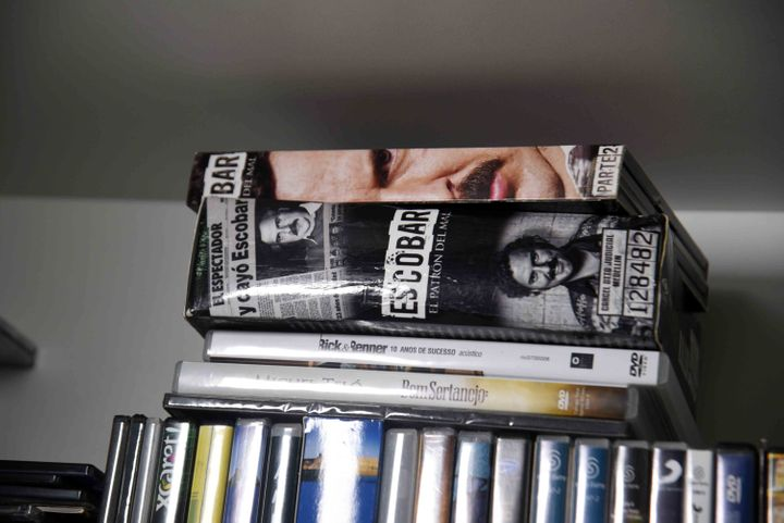 It appears he enjoyed watching DVDs, including a TV seriesaboutColombian drug lord Pablo Escobar's life.