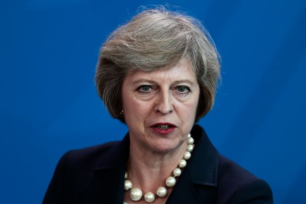 Theresa May described modern slavery as 'vile