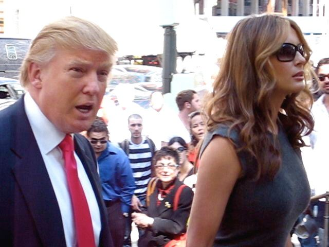 I was attracted to Melania purely because of her academic credentials, which later turned out to be falsified