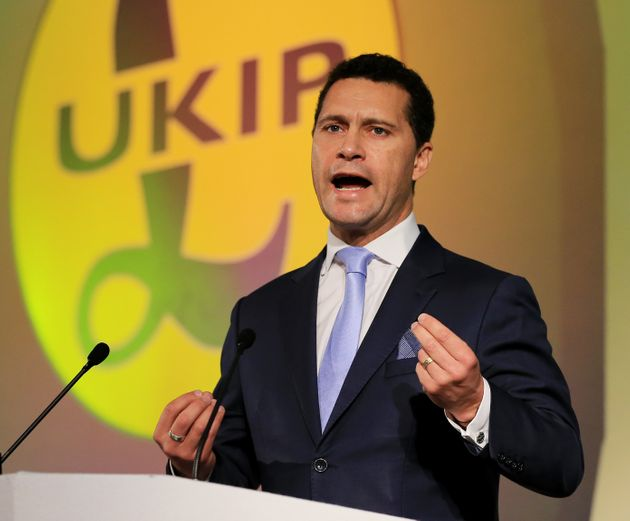 Ukip's Steven Woolfe Misses Leadership Contest Deadline To Hand In Nomination Papers, Huff Post UK