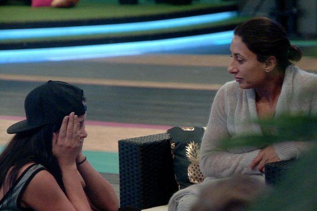 Marnie Simpson flashed Saira Khan on 'Celebrity Big
