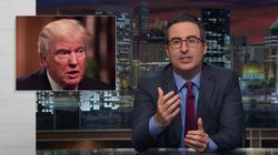 John Oliver Shreds 'Self-Serving Half-Man' Donald Trump Over Response To Khizr