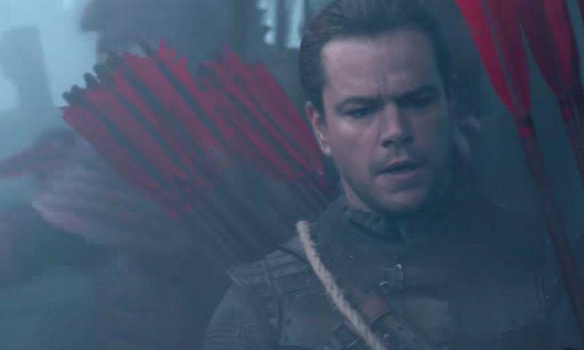 Matt Damon stars in 'The Great