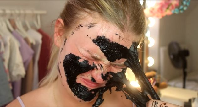 100 Layers Of Face Mask Looks Ridiculously Painful To