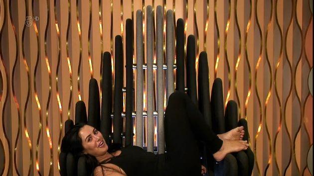 Marnie Simpson won't be punished over flashing Saira