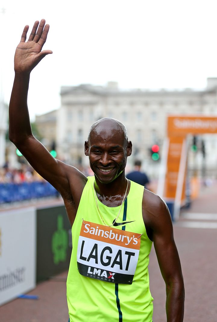 Bernard Lagat in London in 2014.