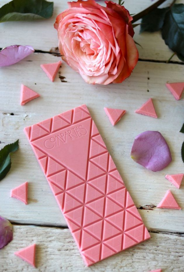 Rosé Chocolate Exists, And We've Officially Gone Too