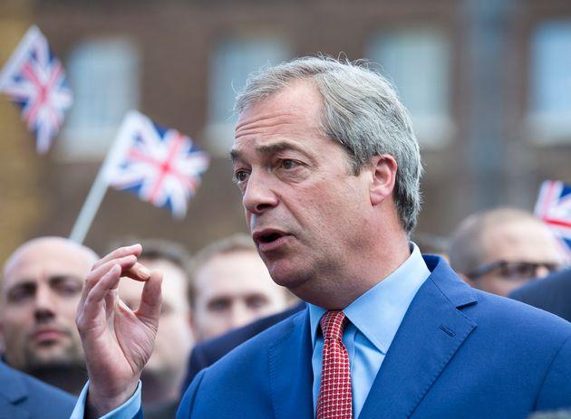 UKIP's current leader Nigel Farage, a backer of