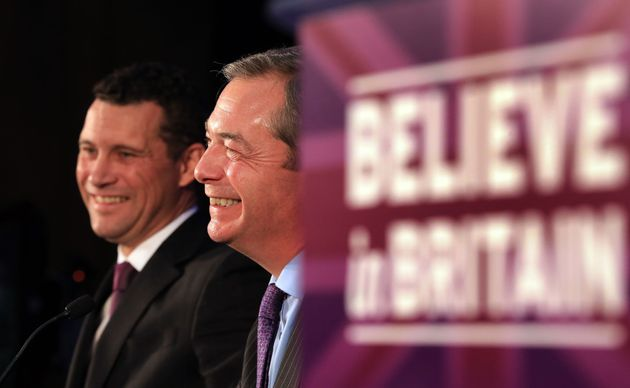 Woolfe and Farage in the 2015 general