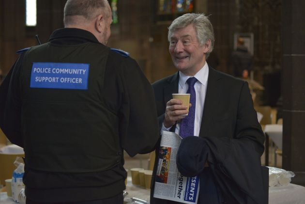 Tony Lloyd, the current Manchester Police And Crime