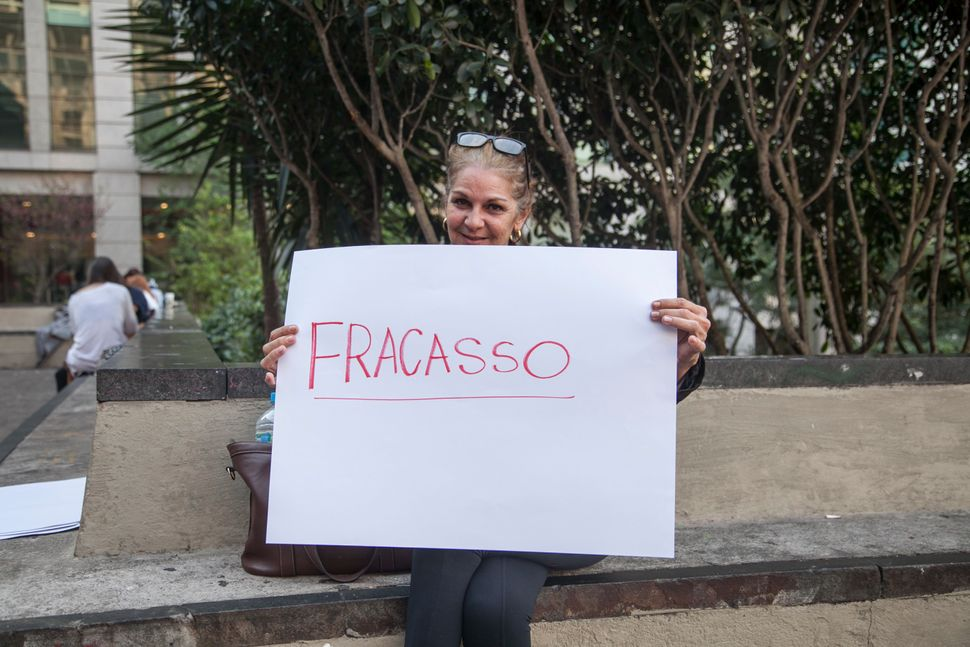 """<i><strong>Luciana Melo, journalist</strong></i><br><br>""""I think we have other priorities, right? Brazil is in a 'party mood."""