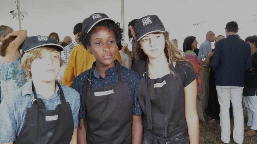Hayground student chefs