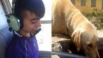 Juan Heriberto Trevino, 14, survived nearly two days in the Mexico wilderness thanks to a labrador named Max.