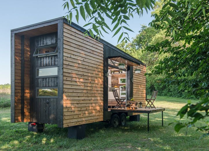 This 246-Square-Foot Home Is Nicer Than Your Whole House | HuffPost on small wide house, kit home small house, small black house, small irish home, small arch house, small park house, small adobe brick house, small flower house, small rectangle house, small cube house, small house interiors, small house under 500 sq ft, small moon house, filigree house, small homes under 600 sq ft, small ball house, small sphere house, small 800 sq ft. house plans, small sun house, small track house,