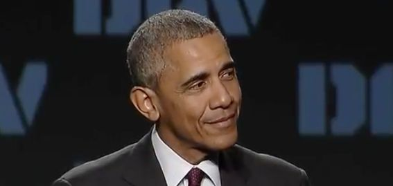Obama is not amused by criticism of the U.S. military from people like Donald Trump.