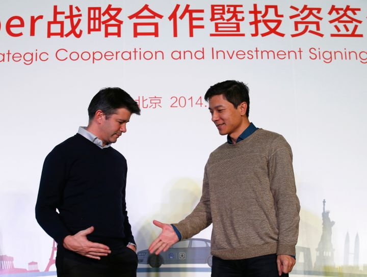 Uber is making peace with its main rival in China.